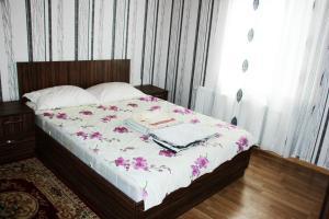 Cama ou camas em um quarto em Gabala Homes Musa