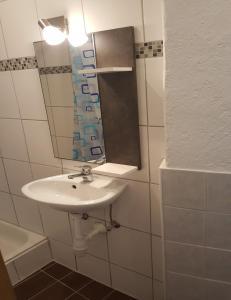 Ein Badezimmer in der Unterkunft Ferienwohnung Dilara