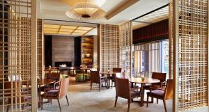 A restaurant or other place to eat at The Ritz-Carlton Kyoto