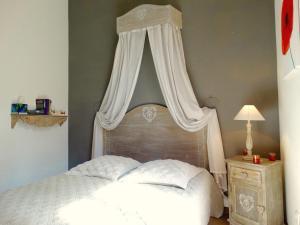 A bed or beds in a room at Luxury Rental Marseille Imperial - Rue de la République