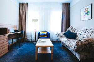 Гостиная зона в Гостиница Торгай