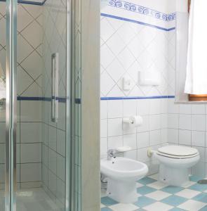 A bathroom at Hotel Elba