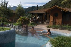 The swimming pool at or near Termas de Papallacta