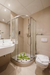 A bathroom at Boutique Hotel Erla