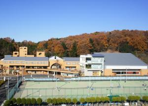 A view of the pool at New Sunpia Saitama Ogose or nearby