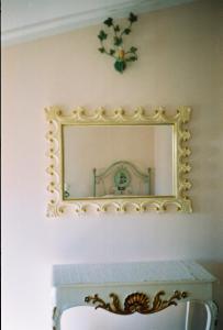 A bathroom at B&B Porto Romano