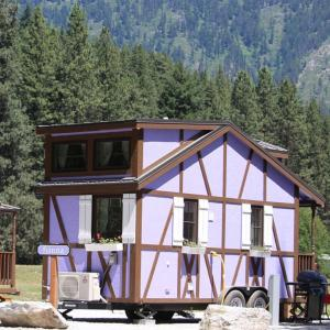 Leavenworth Camping Resort Tiny House Hanna