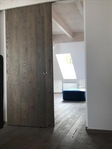 Ein Badezimmer in der Unterkunft See-Apartment Weiden