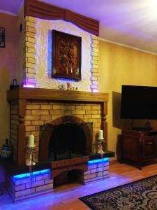 Телевизор и/или развлекательный центр в Дом для отпуска Прайм