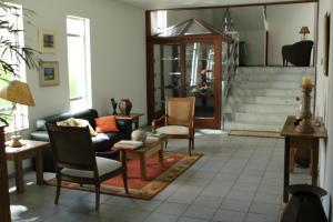 Uma área de estar em Hotel Fazenda Bela Vista