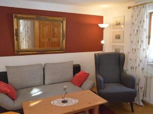 Ein Sitzbereich in der Unterkunft Haus Florence