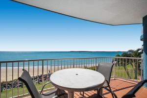 A balcony or terrace at BreakFree Great Sandy Straits