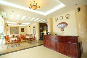 Khu vực sảnh/lễ tân tại Hanvet Tam Đảo Hotel