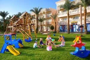 De kinderspeelruimte van Albatros Palace Resort - Families and couples only