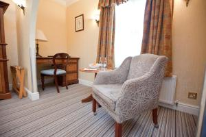 A seating area at Marygreen Manor