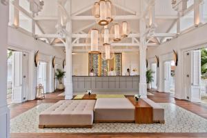 The lobby or reception area at Heritage Le Telfair Golf & Wellness Resort