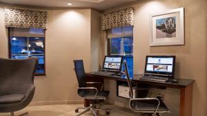 Der Geschäftsbereich oder Konferenzraum in der Unterkunft Best Western On The Avenue