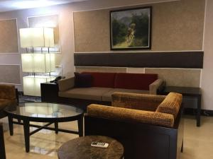 A seating area at Best Premier Hotel Wuse 2