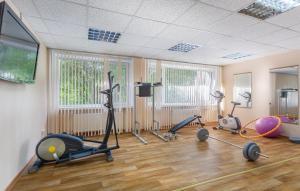 Фитнес-центр и/или тренажеры в Hotel Orbital