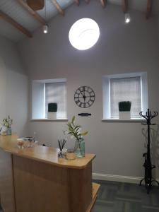 The lobby or reception area at The Sidings Inverurie