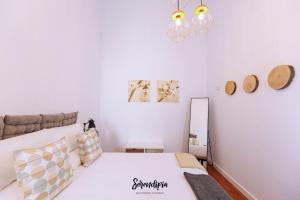 Cama o camas de una habitación en Serendipia