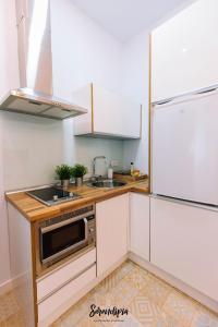 Una cocina o zona de cocina en Serendipia