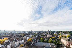 A bird's-eye view of The Student Hotel Maastricht
