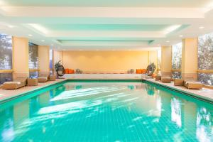 The swimming pool at or near relexa hotel Bad Steben GmbH