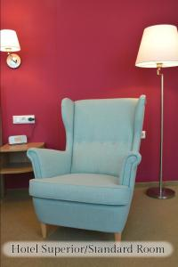 A seating area at Hotel Vita Berlin-Messe