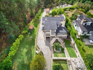 Uma vista aérea de Casa da Quinta Nova