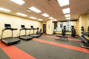 The fitness center and/or fitness facilities at Hyatt Place Nashville Downtown