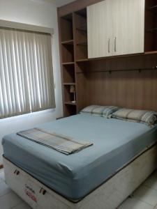 Cama o camas de una habitación en Ajuricaba Suites 6