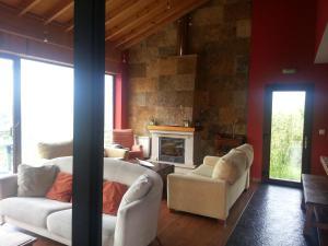 Zona de estar de Hotel La Casina