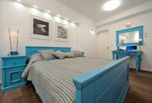 A bed or beds in a room at Apartment Whooart