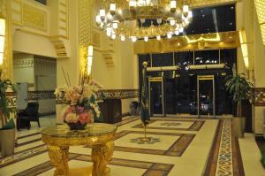 منطقة الاستقبال أو اللوبي في فندق الدار البيضاء تكامل