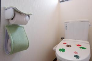 A bathroom at Cottage Kutsuroki
