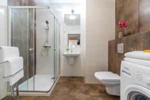 Łazienka w obiekcie P&O Apartments Ordona 2