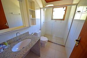 Um banheiro em Eco Resort Serra Imperial