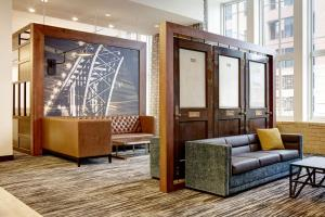 A seating area at Hyatt Place St. Paul