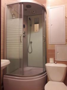 Ванная комната в Апартаменты-студио на Фрунзе 2