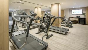 Palestra o centro fitness di Ilunion Málaga