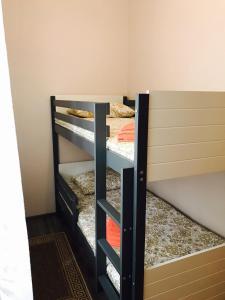 Двухъярусная кровать или двухъярусные кровати в номере Гостевой дом Райзен Хаус