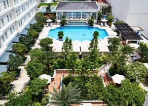 Vue sur la piscine de l'établissement Park Hyatt Saigon ou sur une piscine à proximité
