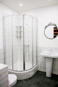 Ванная комната в Исторический особняк 1825