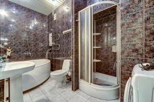 Ванная комната в Апартамент №3 на Мойка 27