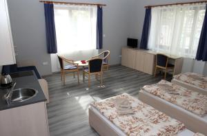 Гостиная зона в Penzion Markéta Chrudim