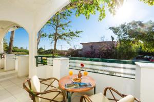 Μπαλκόνι ή βεράντα στο Trefon Hotel Apartments and Family Suites