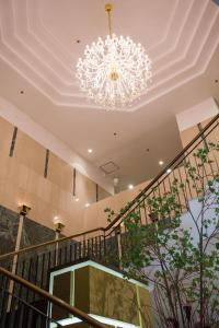 The lobby or reception area at BEST WESTERN Hotel Nagoya
