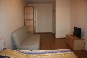 Un ou plusieurs lits dans un hébergement de l'établissement 1-к квартира Покровский бульвар, 11