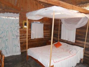 Un ou plusieurs lits dans un hébergement de l'établissement Longo Vezo